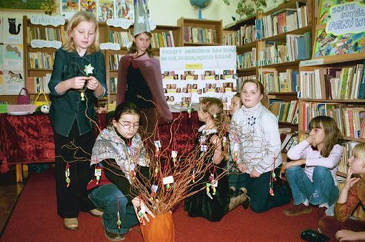 Spotkanie Andrzejkowe w oddziale dla dzieci