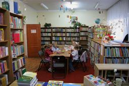 Oddział dla dzieci w dawnym budynku biblioteki